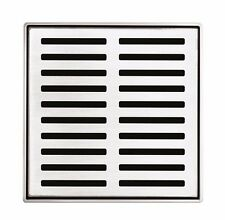 Forme WHAT-A-WASTE SHOWER GRATE Stainless Steel LINEAR SLOTS, 110mm - Aust Brand