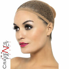 Wig Cap Nude Mesh Flesh Fancy Dress Party Costume Smiffys New