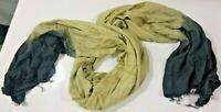 Mauritanian Scarf Tuareg African Scarf Turban Green-Black Turban Scarf