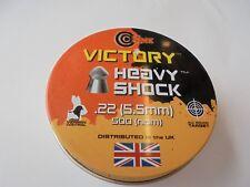 Victory shock heavy pellets .22 / 5.5mm x 500