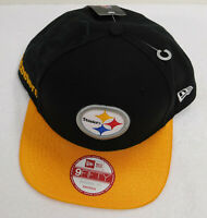 Pittsburgh Steelers Hat New Era 9fifty NEW Snapback Flatbill NFL Football