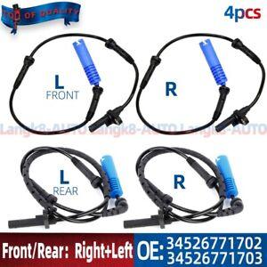 4pcs ABS Wheel Speed Sensor For BMW E60 E61 525i 528i 530i 540i  6771702 6771703