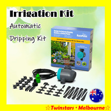AU Hydroponics Watering Dripping Kit Digital Timer Automatic Irrigation System