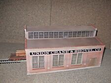 Cornerstone HO Scale Union Crane and Shovel  Custom Built, Weathered, Detailed