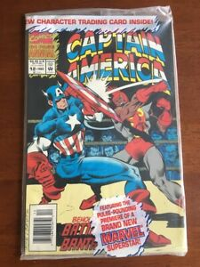 CAPTAIN AMERICA ANNUAL # 12 NM SEALED NEWSSTAND 1ST BANTAM MARVEL COMICS 1993