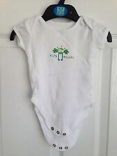 Baby White George Bodysuit - Size 0-3 Months