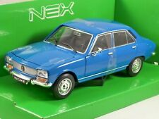 1975 PEUGEOT 504 in Blue 1/24 scale model by WELLY