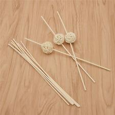 Rattan Reed Fragrance Diffuser Essential Oil Sticks Ball Home Bathroom Decor