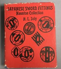 JAPANESE SWORD FITTINGS-NAUNTON COLLECTION-H. L. JOLY- EDITION-1973
