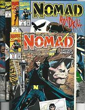 NOMAD #'s 1-5 (MARVEL COMCS, 1992), VF/NM