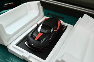 Top Speed Aston Martin Vulcan Matte Black 1/18 New see description.