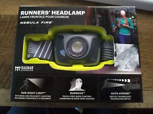 NEW! Nathan Runners' Headlamp, Nebula Fire & get a FREE COMPASS a $11 value