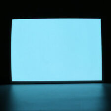 White A5 EL Panel Electroluminescent Cuttable Sheet Neon Paper + 12V Actuator US