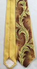 Vintage Deluxe HollyVogue Cowboy Corral Neck Tie Hollywood Glamour Silk?