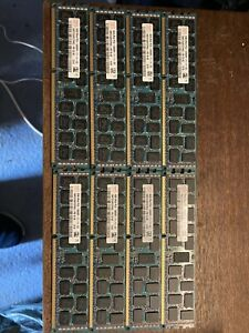HYNIX HMT31GR7CFR4C-PB 8GB 2Rx4 DDR3 PC3-12800R 1600MHz 8 Sticks Lot 2