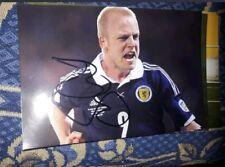 Signiertes Foto Steven Naismith Schottland NEU
