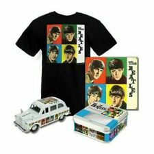 The Beatles  EIGHT DAYS A WEEK collectable TIN, TAXI & T-SHIRT  NRFB   Ltd Ed