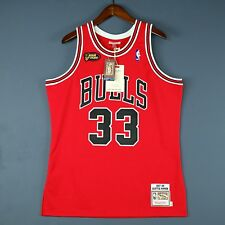100% Authentic Scottie Pippen Mitchell & Ness Bulls 98 Finals Jersey Size 40 M