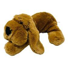 "Unipak Design Plush Floppy Puppy Dog Brown Soft Stuffed Animal Toy 10"" Long"