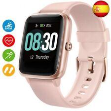 UMIDIGI Reloj Inteligente Uwatch3 Smartwatch 5ATM Impermeable con Cronó  (Rosa)
