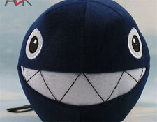Super Mario bros blue shark Peach Chain Chomp Plush doll Toy free ship UK