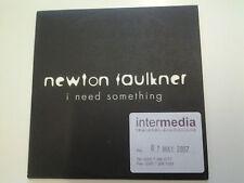 Newton Faulkner I Need Something Promo DJ CD Single