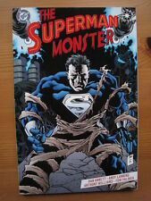 SUPERMAN :THE SUPERMAN MONSTER. SQUARE BOUND GRAPHIC NOVEL. DC ELSEWORLDS. 1999