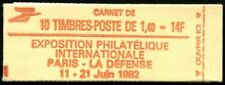Lot N°3508 France Carnet Moderne N°2102-C5 8 timbres avec impr. partielle Neuf**