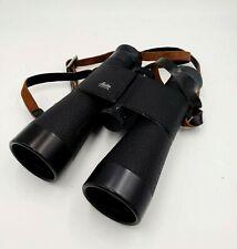 Vintage Leitz Leica Wetzlar Trinovid Binoculars 7x42B w/ original case & strap