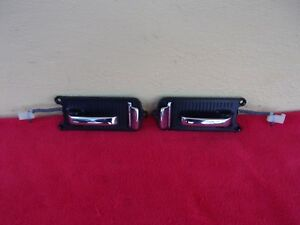 76-90 JAGUAR XJS USED LEFT & RIGHT INSIDE DOOR HANDLES