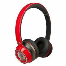 Monster N-Tune Hd On-Ear Headphones 128516-00 (Race Car Red)