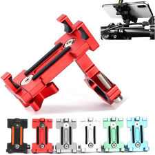 Aluminum Alloy Mobile Phone Holder Bracket Mount For Motorcycle Bicycle Bike MTB