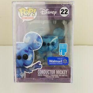 Funko Pop! Conductor Mickey Exclusive ART Series #22 Walmart Exclusive DISNEY
