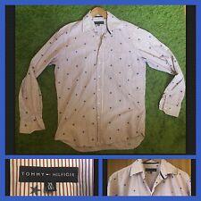 TOMMY HILFIGER: Men's Stars & Bande Long Manche Shirt: Medium