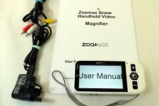 """ZOOMAX Snow 4.3"""" Portable Electronic Video Magnifier"""
