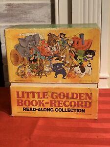 VTG Little Golden Book-Record Read Along Collection: Disney 21 Records 45s
