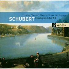 Schubert: Symphony (Sinfonie) No 4, 5, 6 & 8 / Norrington, Et Al - CD