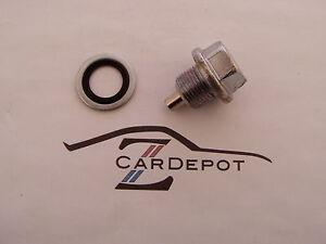 Datsun 1970-83 240Z 260Z 280Z L24 L26 L28 Engine Magnetic Oil Drain Plug NEW 072