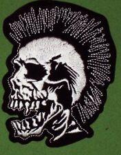 Crane Punk Skull PATCH Brodé Embroidered NEUF MINT