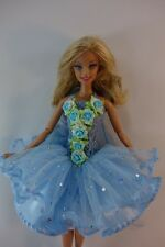 Barbie Doll Outfit Costume Fancy Dress Fairytopia Ballerina Fairy Angel # F10