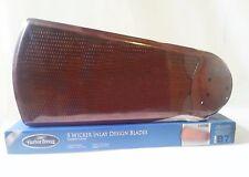 Harbor Breeze Wicker Inlay Cherry Finish Indoor Ceiling Fan 5 Blades Item 124596