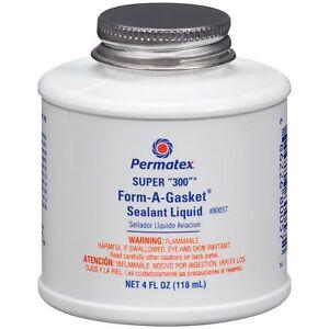 Permatex 80057 super 300 form a gasket sealant 118ml 4oz