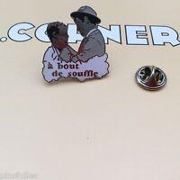 Pin's Folies Corner signé n° 474 Cinema Movie A bout de souffle Seberg Belmondo