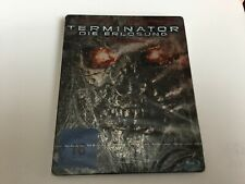 Terminator Salvation German Bluray Steelbook Unopened