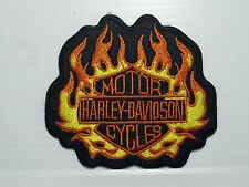 "Toppa Termoadesiva Thermoadhesive Patch "" HARLEY MOTOR CYCLES  "" (TOP AE 25)"