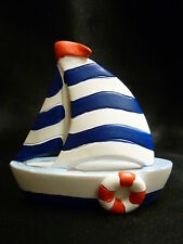 Cake Topper Figurine Figure Decoration Birthday Characters - SAIL BOAT Yacht