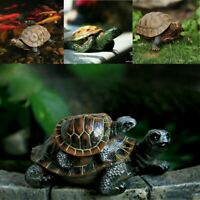 Home Garden Ornament Outdoor Yard Garden Tortoise Resin Turtle Animal Figurine
