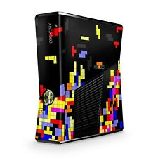 Xbox 360 Slim Skin Aufkleber Schutzfolie Sticker Skins Folie Design Tetrads