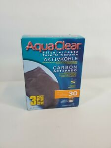 NEW IN PACKAGE Fluval   AquaClear 30 Carbon 3PK   A5