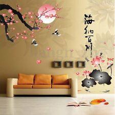 DIY Mur Sticker Autocollant Fleur Mural Art Décor Salon Maison Chambre Adhésif